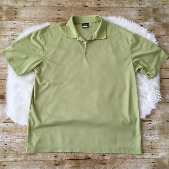 6a9f0492 Nike Shirts | Mens Golf Dri Fit Shirt Xl Green | Poshmark